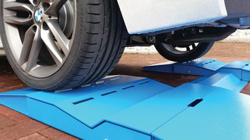 English tyre profiler wheel tread measuring system - Portata massima tir ...