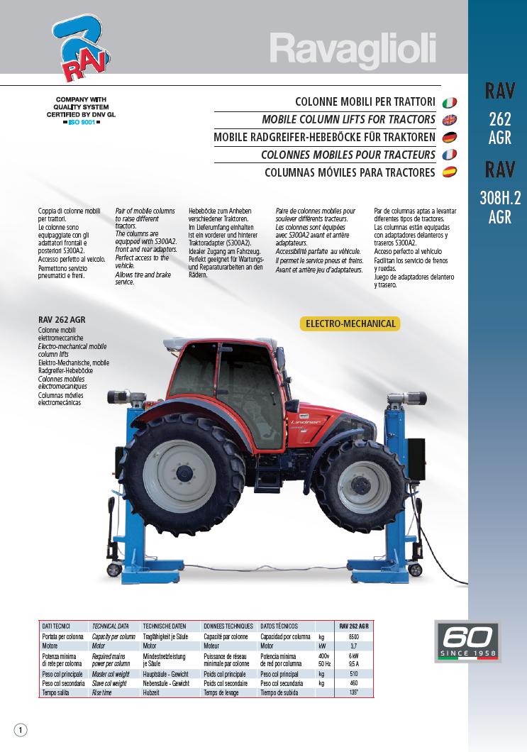Ravaglioli - RAV | Top-Ranking Garage Equipment